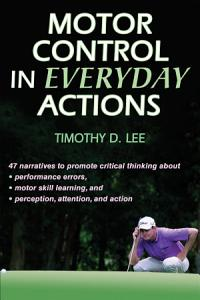 Motor Control in Everyday Actions Book