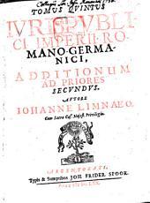 Ius publicum imperii romano-germanici: cum Aditt. 5. Additiones. T. 2. - 1670