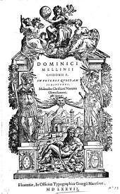 In veteres quosdam scriptores malevolos christiani nominis obtrectatores libri quatuor