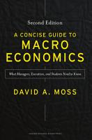 A Concise Guide to Macroeconomics PDF
