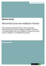 Historischer Jesus und wirklicher Christus PDF