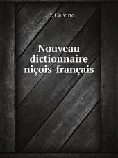 Nouveau dictionnaire ni?ois-fran?ais