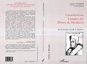 Considérations à propos de Machiavel: Sur la première décade de Tite-Live
