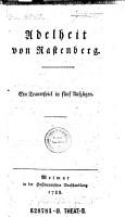 Adelheid von Rastenberg PDF