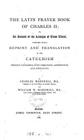 The Latin Prayer Book of Charles II PDF