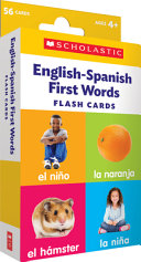 ENGLISH-SPANISH FIRST WORDS.
