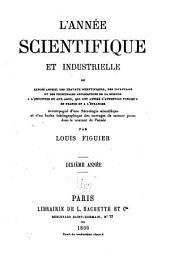 L'Année scientifique et industrielle: Volume10