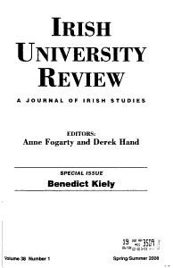 Irish University Review PDF