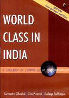 World Class in India PDF
