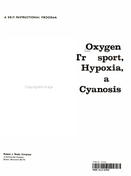 Oxygen Transport  Hypoxia and Cyanosis PDF