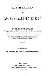 Grundriss der sprachwissenschaft: Band 3,Teile 1-2