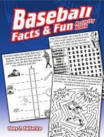 Baseball Facts   Fun Activity Book PDF