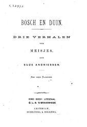 Bosch en duin: drie verhalen voor meisjes