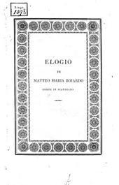 Elogio de Matteo Maria Bojardo