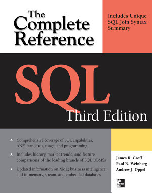 SQL The Complete Reference  3rd Edition PDF
