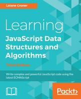 Learning JavaScript Data Structures and Algorithms PDF