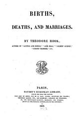 Births Deaths And Marriages Book PDF