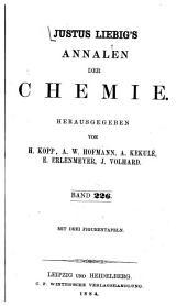 Justus Liebigs Annalen der Chemie: Band 226