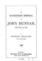 A bi-centenary memorial of John Bunyan