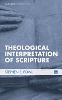 Theological Interpretation of Scripture PDF
