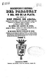 Descripción é historia del Paraguay y del Río de la Plata: Volumen 1