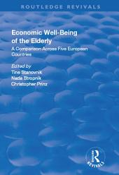 Economic Well-Being of the Elderly: A Comparison Across Five European Countries