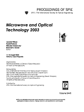 Microwave and Optical Technology 2003