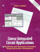 Linear Integrated Circuit Applications Using Electronics Workbench PDF