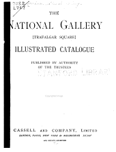 The National Gallery: Illustrated Catalogue