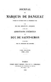 Journal du marquis de Dangeau: Volume 13