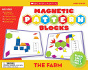 The Farm Magnetic Pattern Blocks Book