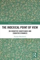 The Indexical Point of View PDF