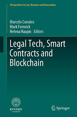 Legal Tech  Smart Contracts and Blockchain