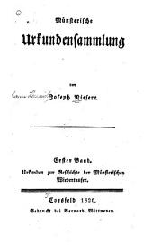 Münsterische Urkundensammlung