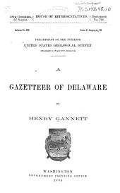 A Gazetteer of Delaware