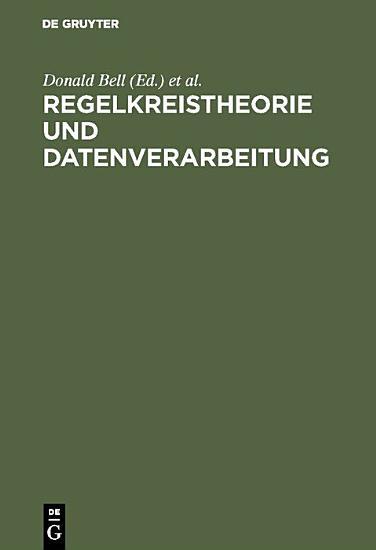 Regelkreistheorie und Datenverarbeitung PDF