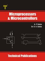 Microprocessors and Microcontrollers PDF