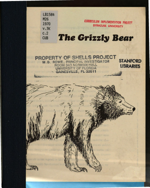 The Grizzly Bear PDF