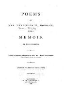 Poems of Mrs  Lyttleton F  Morgan PDF
