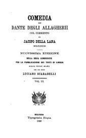 Comedia di Dante degli Allagherii: Volume 1;Volume 38