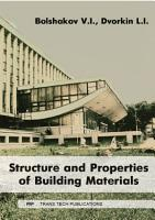 Structure and Properties of Building Materials PDF