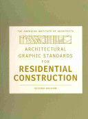 Architectural Graphic Standards For Residential Construction  Second Edition And Architectural Graphic Standards 1  0 CD ROM