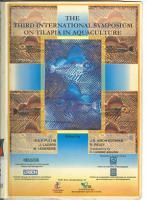 The Third International Symposium on Tilapia in Aquaculture PDF