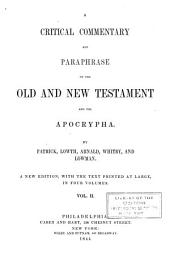 A Critical Commentary and Paraphrase on the Old and New Testament and the Apocrypha: Volume 2