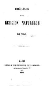 Théologie de la Religion naturelle