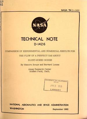 Nasa technical note  no 1 4000  PDF