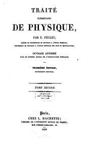 Traite elementaire de physique: Volume2