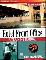 Hotel Front Office Trng Mnl 2E PDF
