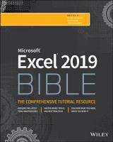 Excel 2019 Bible PDF