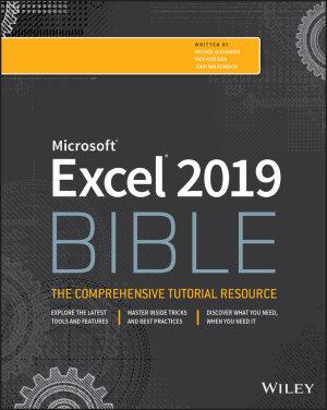 Excel 2019 Bible